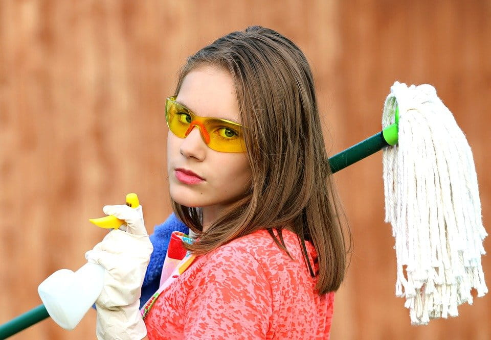 Nettoyer sans trop polluer.