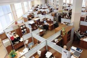 Bureaux en openspace